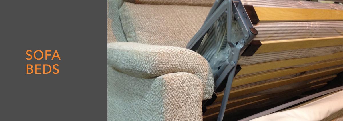 WL dept banner fabric sofa beds