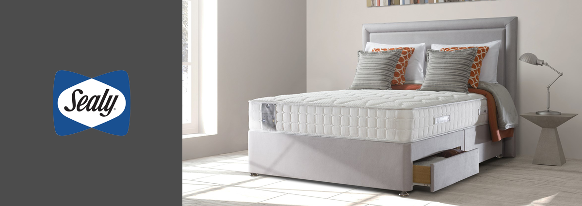 WL dept banner sealy beds brand